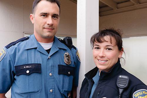 OfficerBenKelly.OfficerBrittSweeney.SeattlePolice
